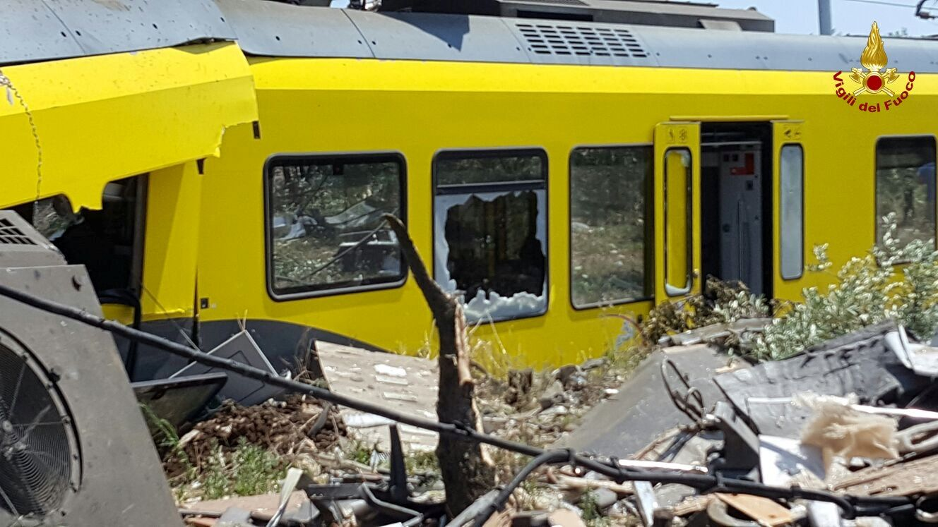 Southern Italy train crash