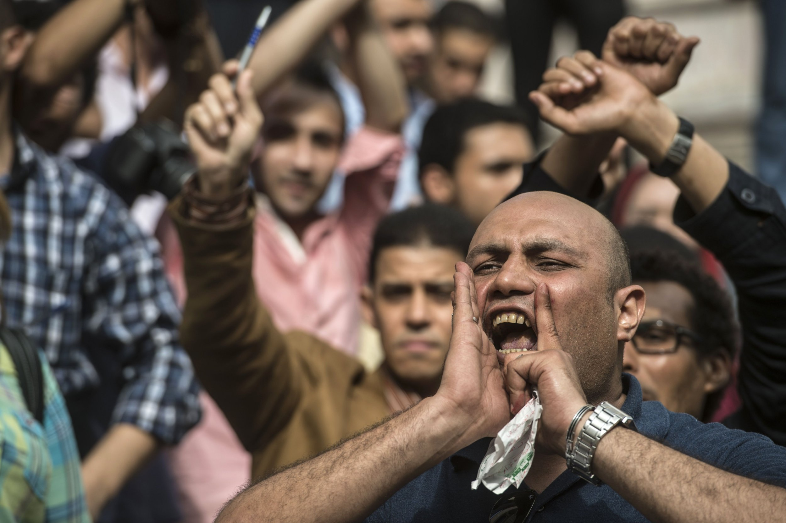 Egypt Protest Dissent Security Forces
