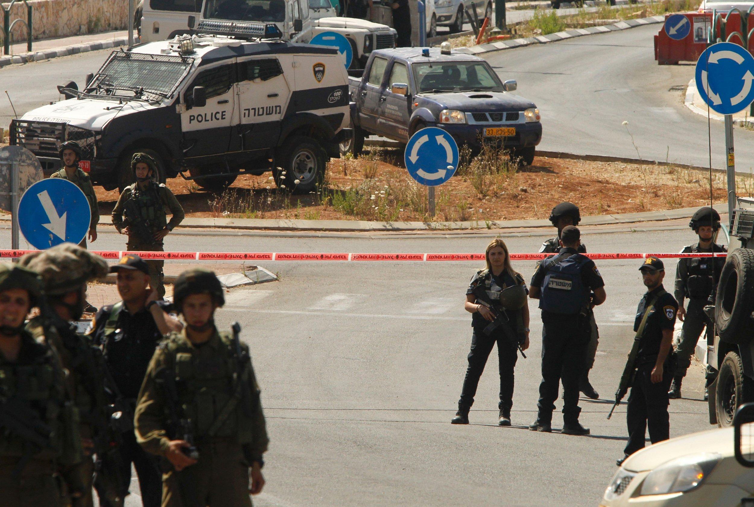 Israel Palestinian car-ramming attack