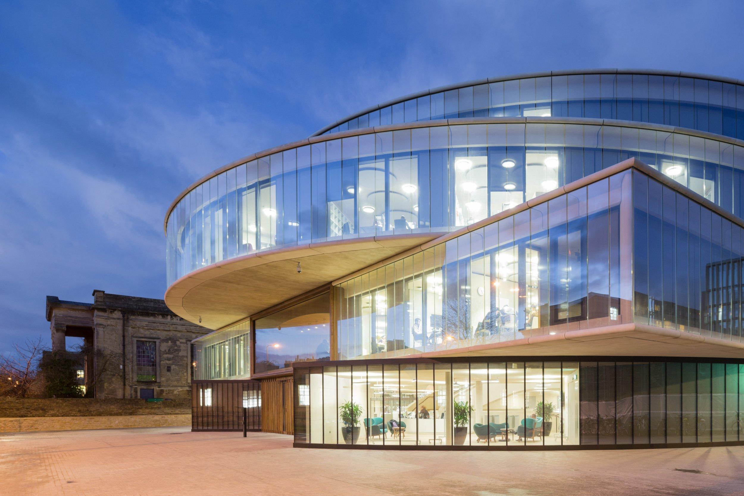 Riba Stirling Prize 2016 Damien Hirst Gallery University