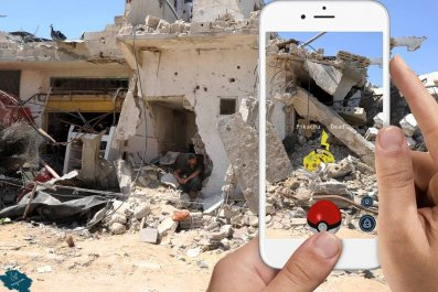 Pokemon Gaza Israel Palestinians