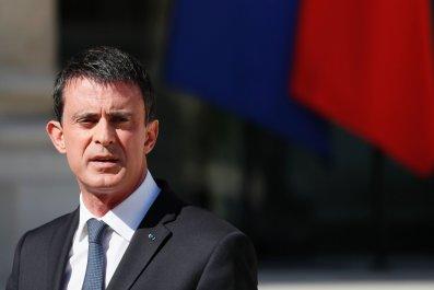 France Prime Minister Manuel Valls