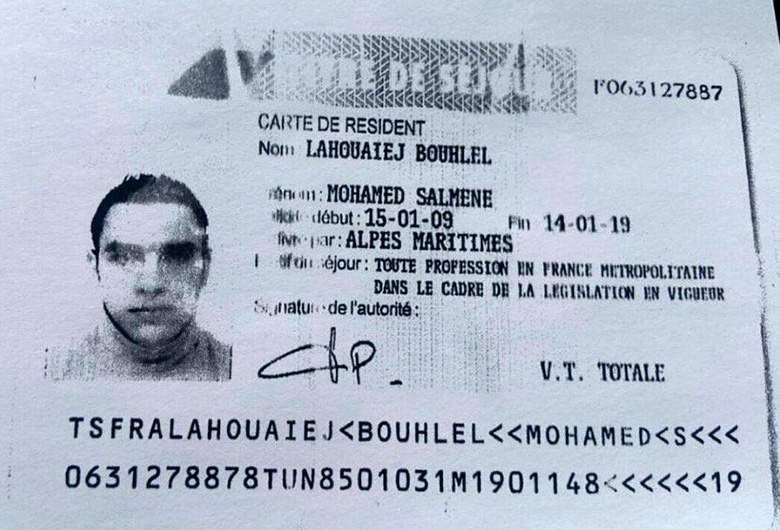 Mohamed Bouhlel, Nice truck attacker.