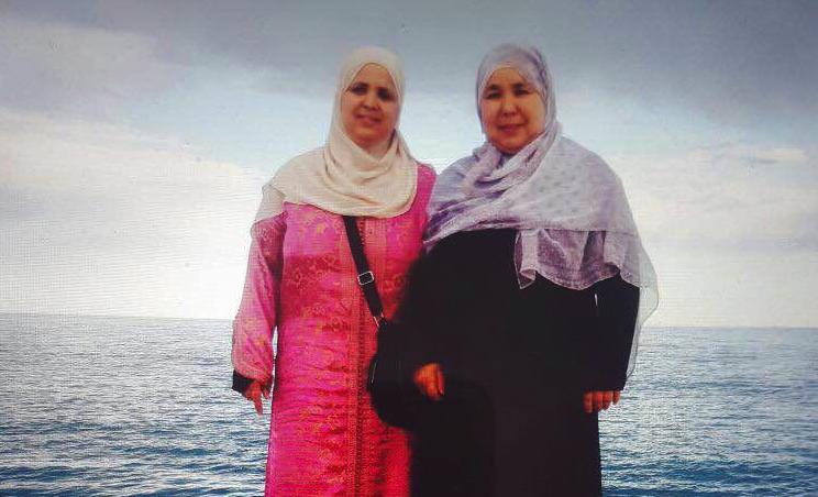 Fatima Charrihi on the Promenade Des Anglais