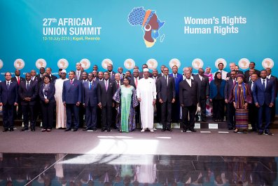 African Union leaders