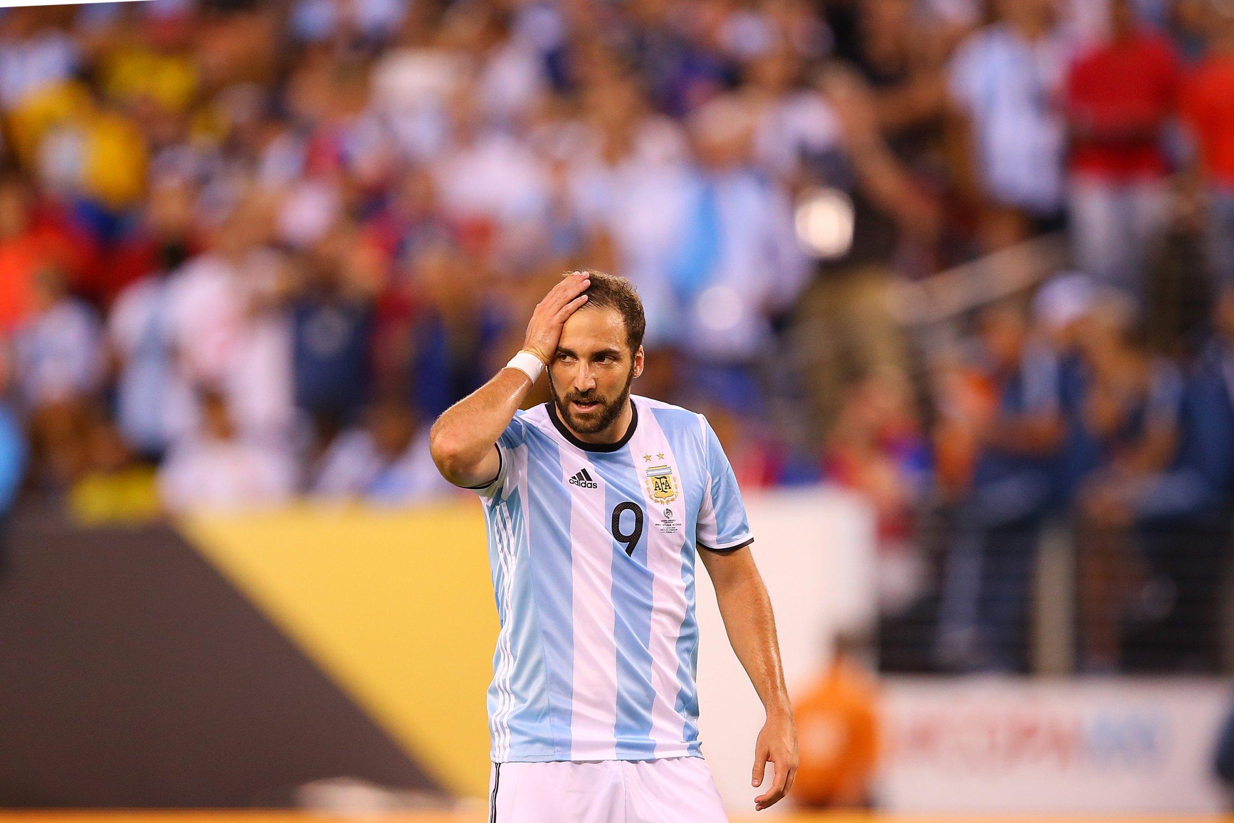 Napoli and Argentina striker Gonzalo Higuain