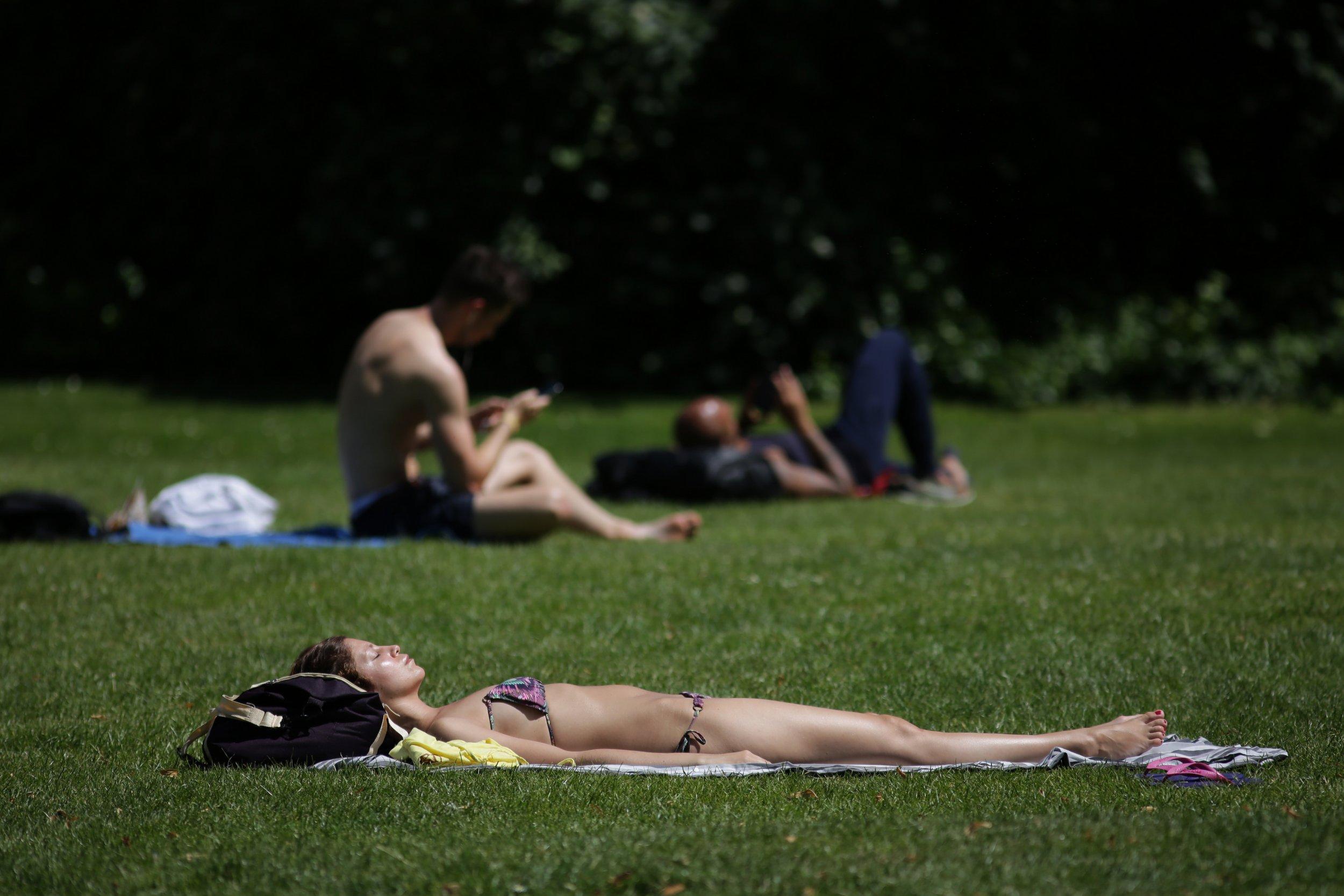 Weather, London heatwave