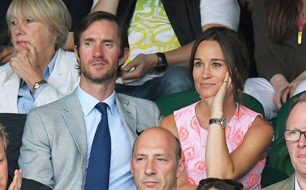 James Matthews and Pippa Middleton