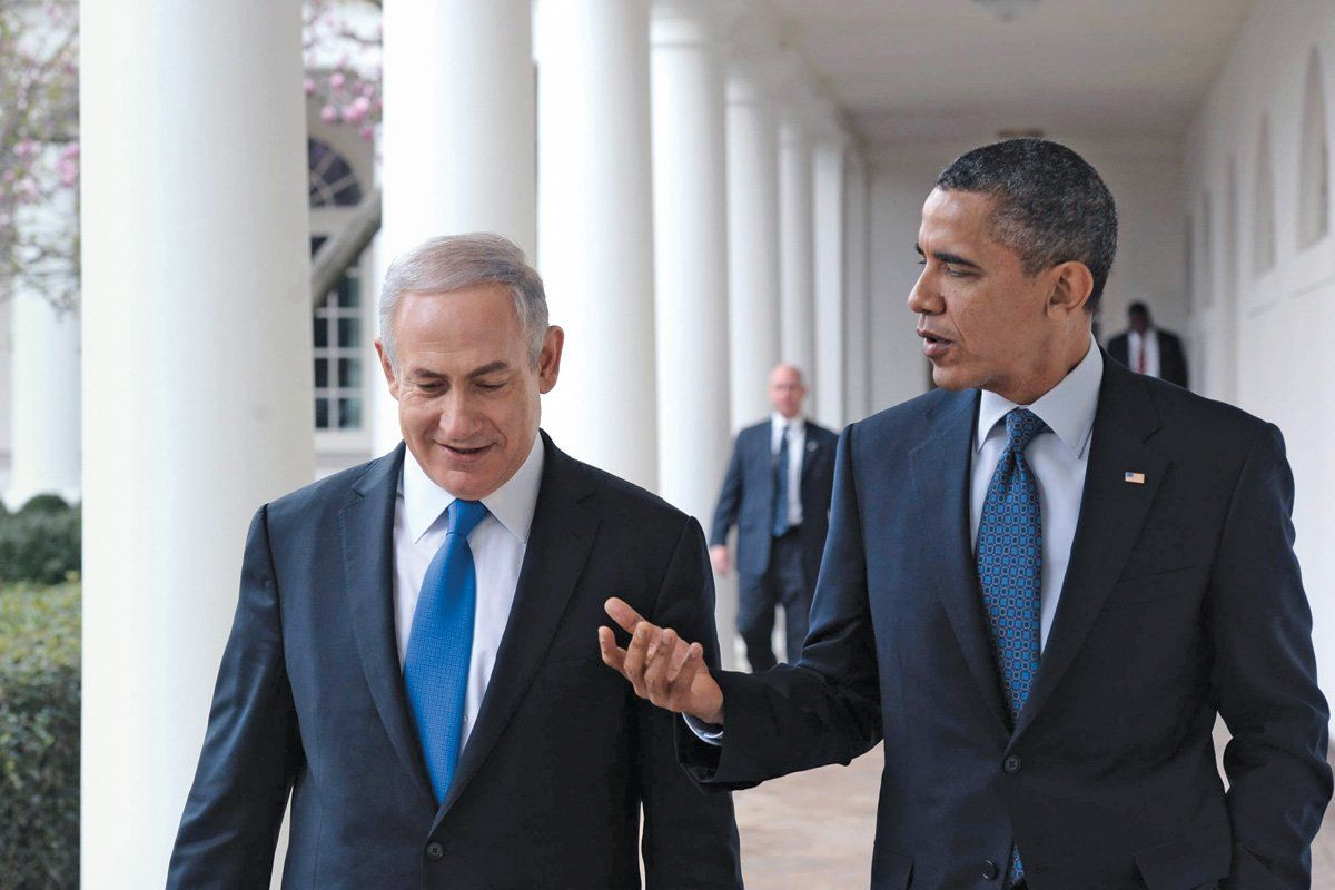 Netanyahu and Obama talk, March 2012