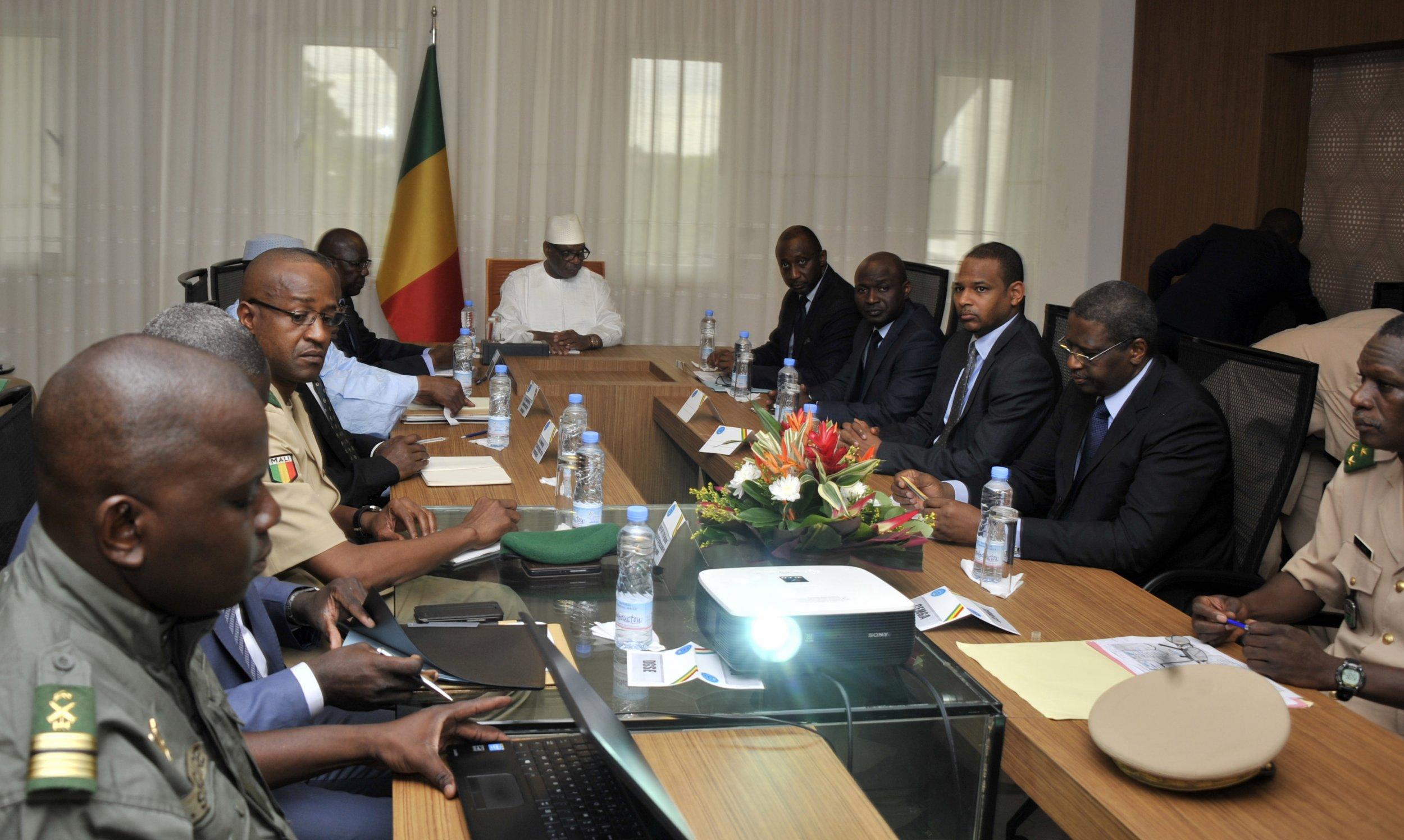 Mali security meeting