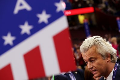 Geert Wilders At The Republican National Convention