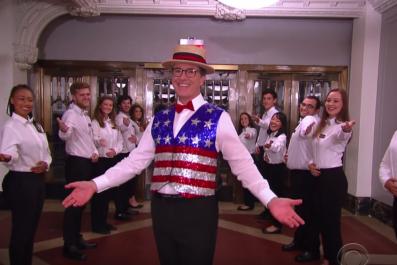 7-20-16 Colbert Christmas in July