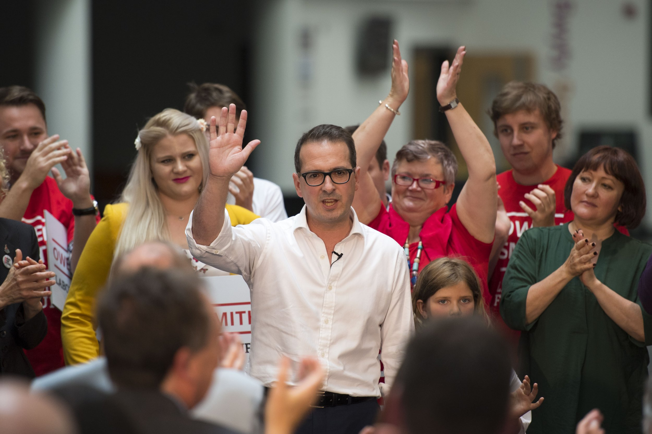 Owen Smith For Labour Leader