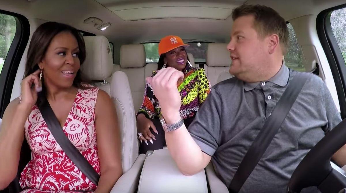 Michelle Obama on Carpool Karaoke
