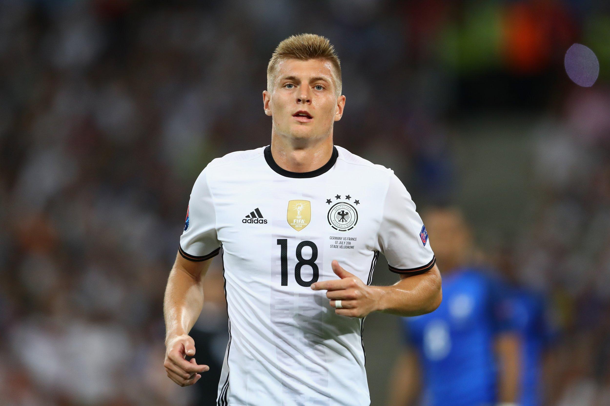 Germany and Real Madrid midfielder Toni Kroos