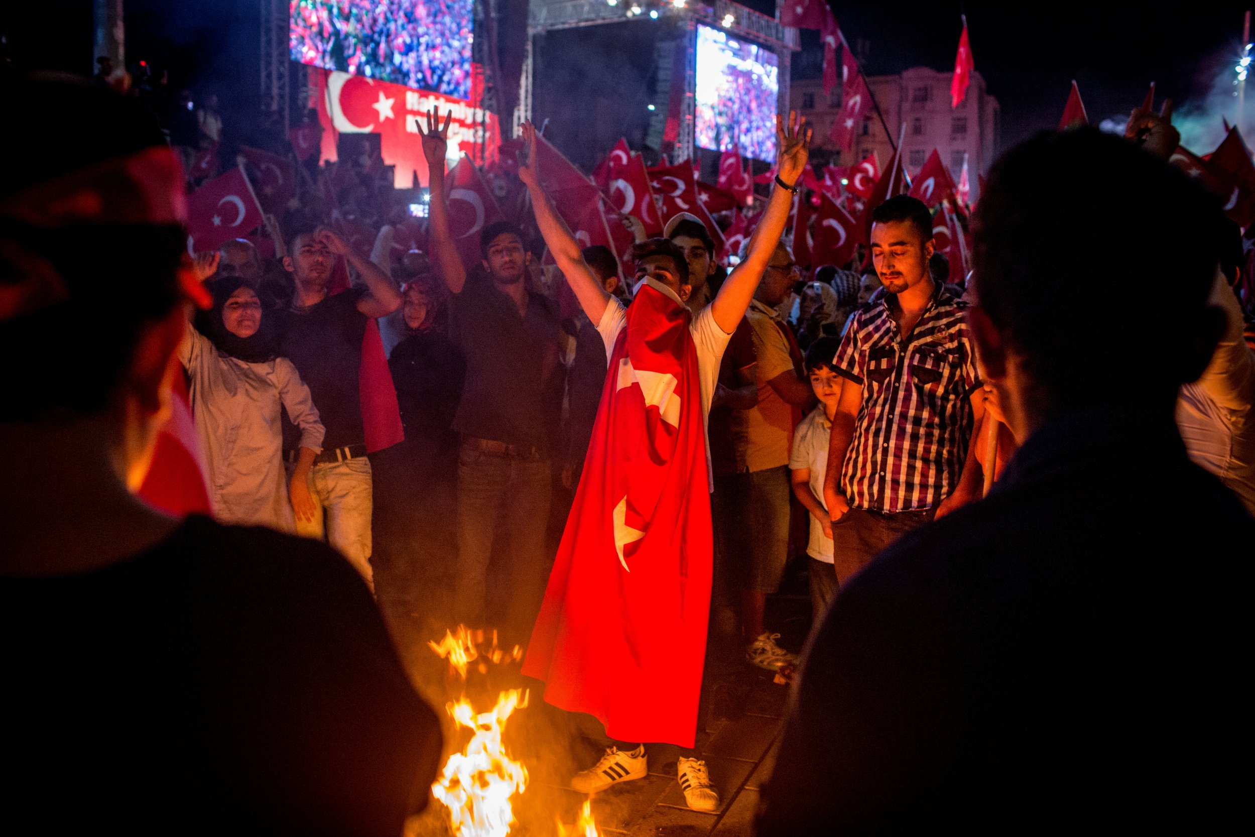 Istanbul protesters
