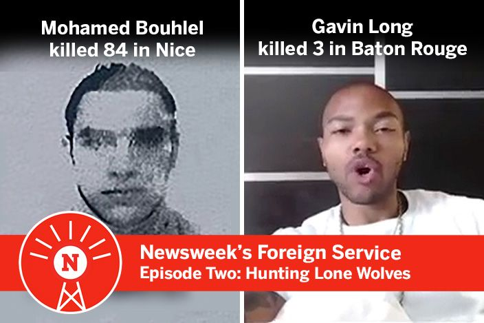 Mohamed Lahouaiyej Bouhlel and Gavin Long