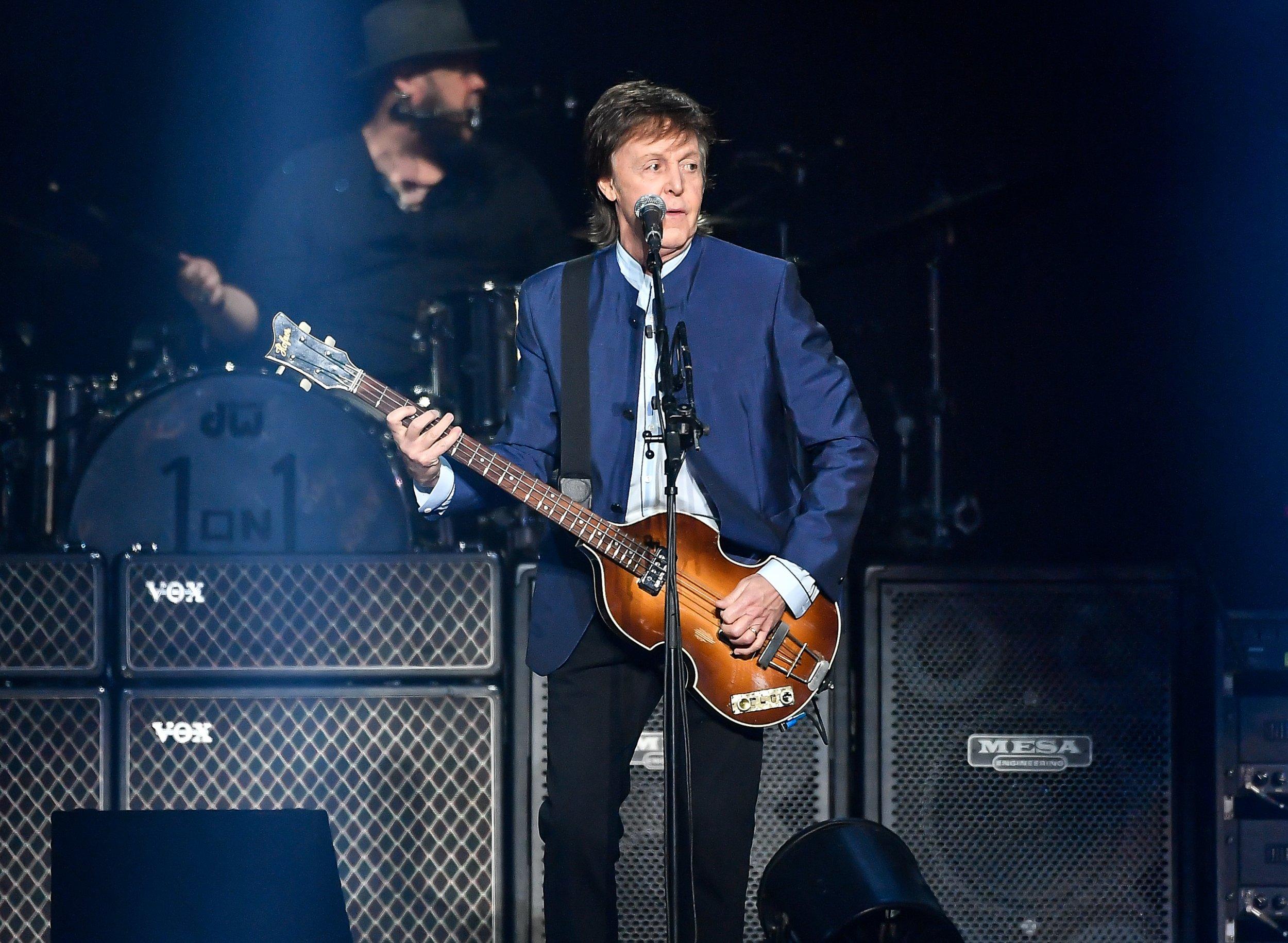 Paul McCartney Named UKs Most Successful Album Artist