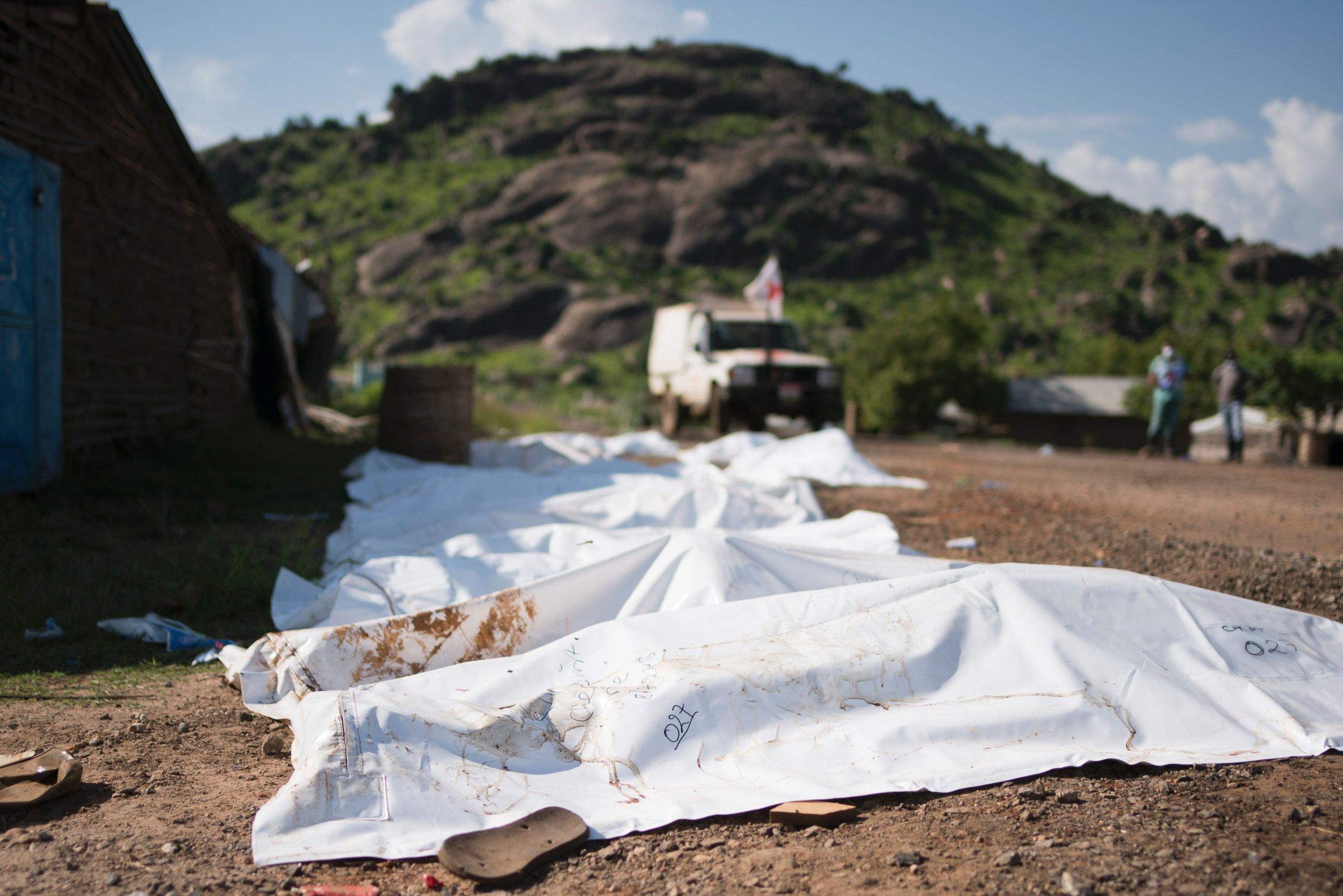 Bodybags in Juba
