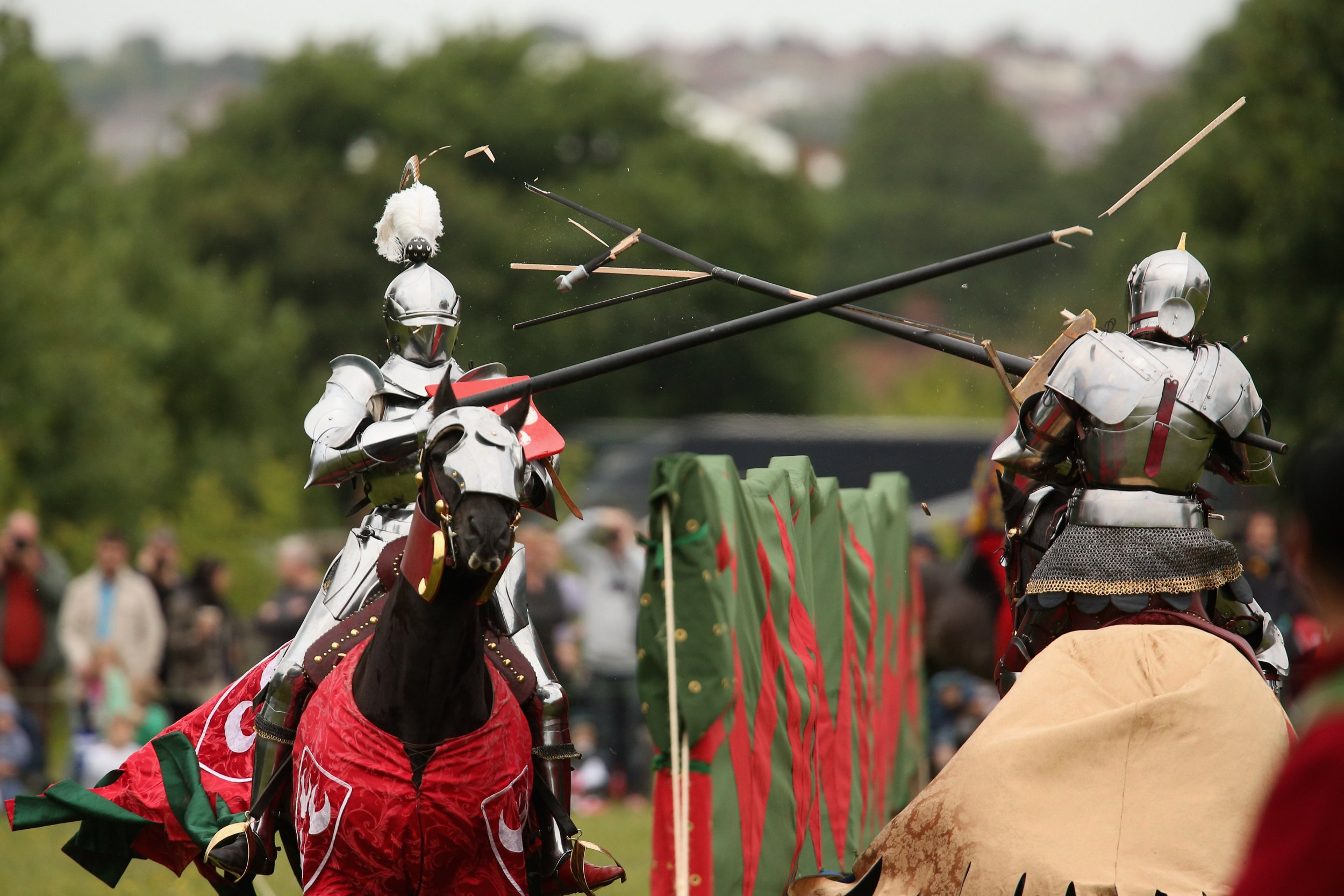 olympics could jousting really be included in the games
