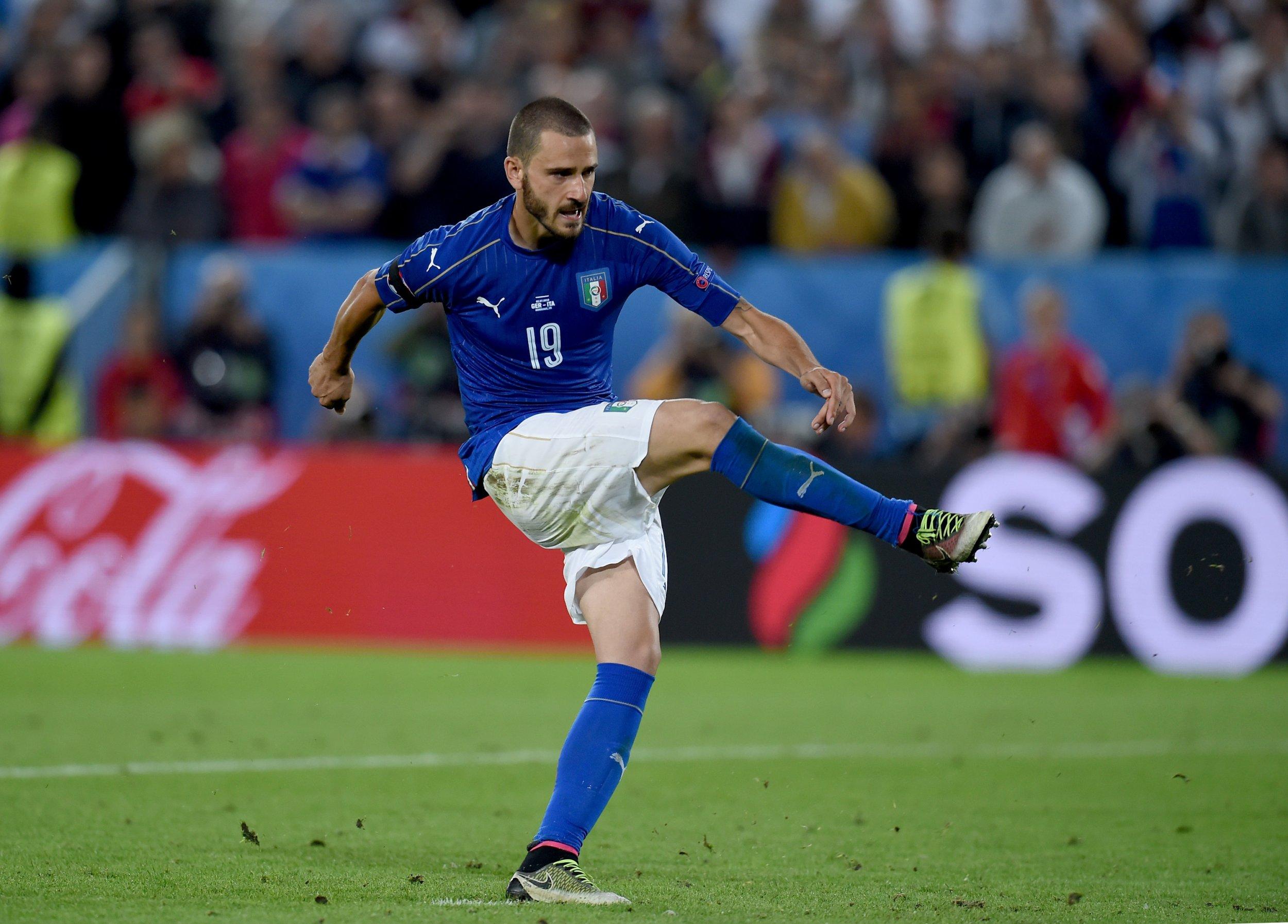 Juventus and Italy defender Leonardo Bonucci