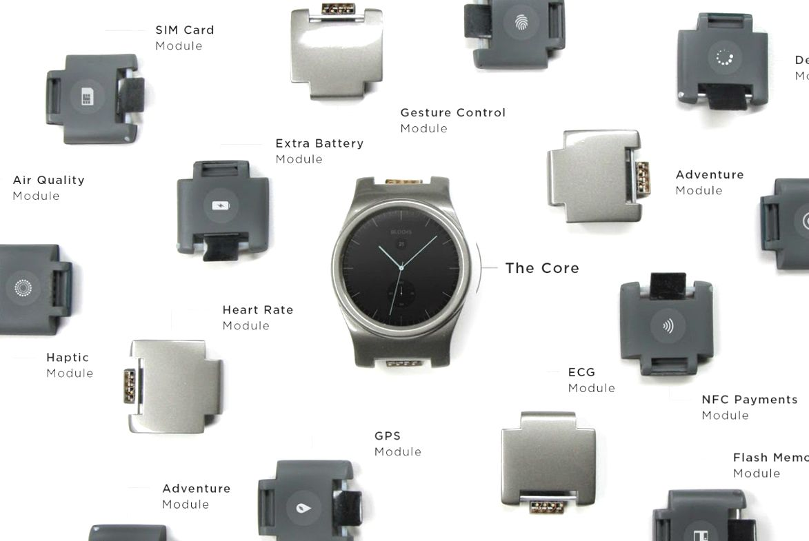 smartwatch blocks modular wearables