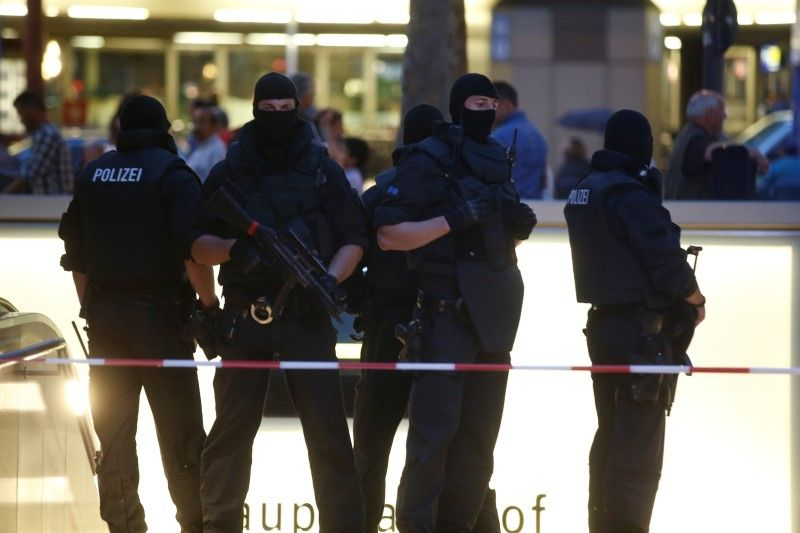 Special force police officers in Munich
