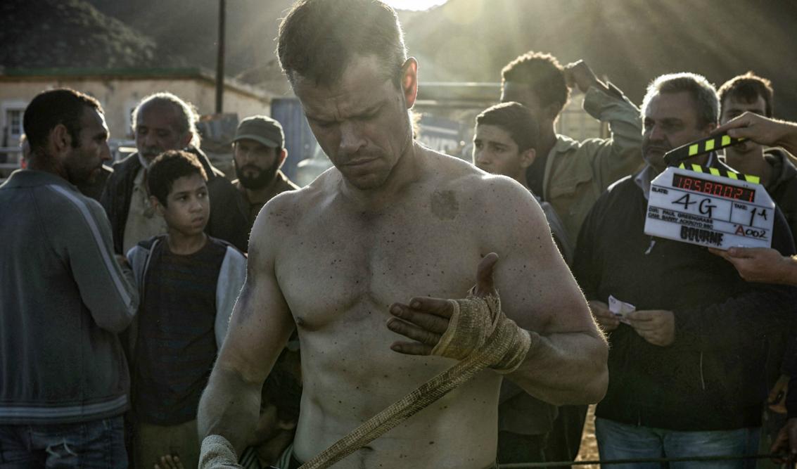 Go Behind the Scenes With Matt Damon and Bradley Cooper's Trainer