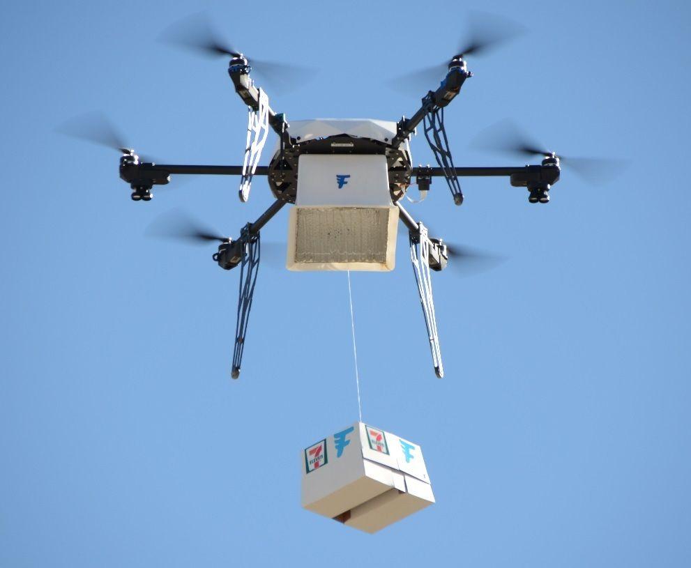 drone delivery 7 eleven FAA