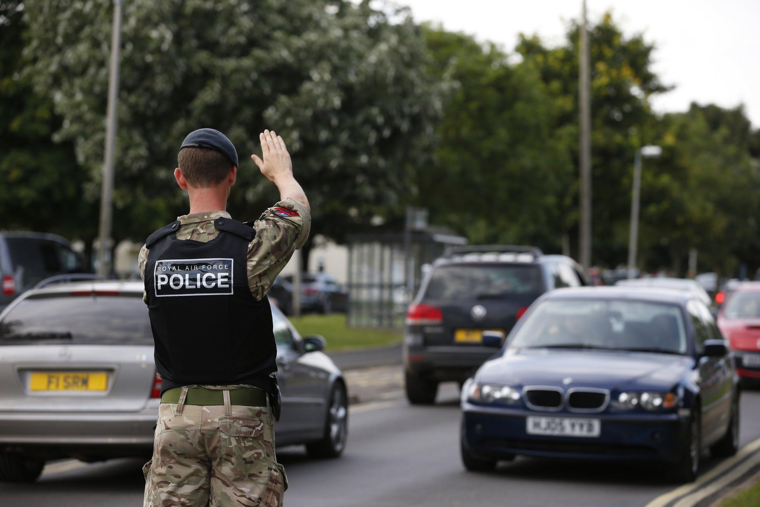 RAF Marham Attackers 'Seen Speeding Through Village' A