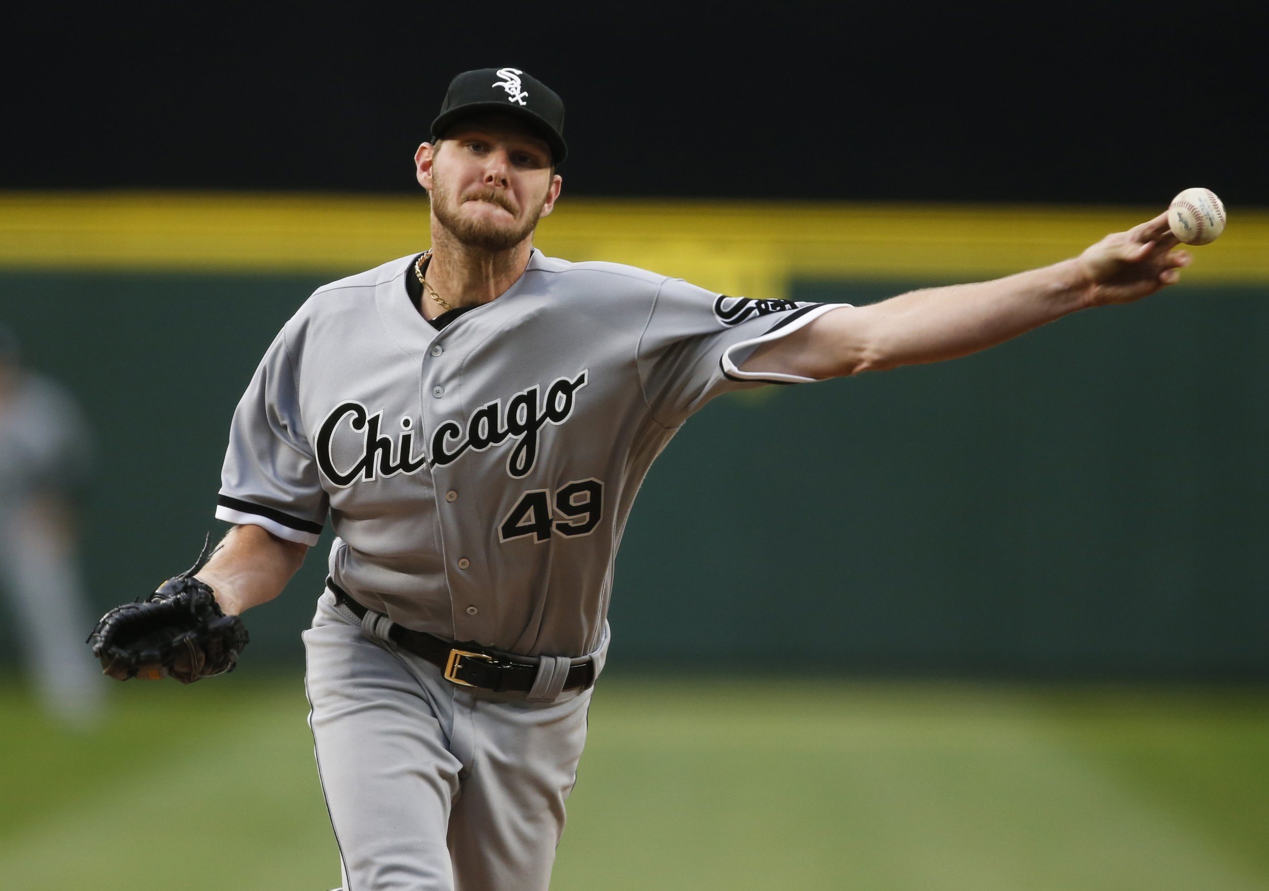 695f5ff93c0 Sale led the majors in strikeouts last season and leads in shredded  uniforms this season. USA TODAY SPORTS