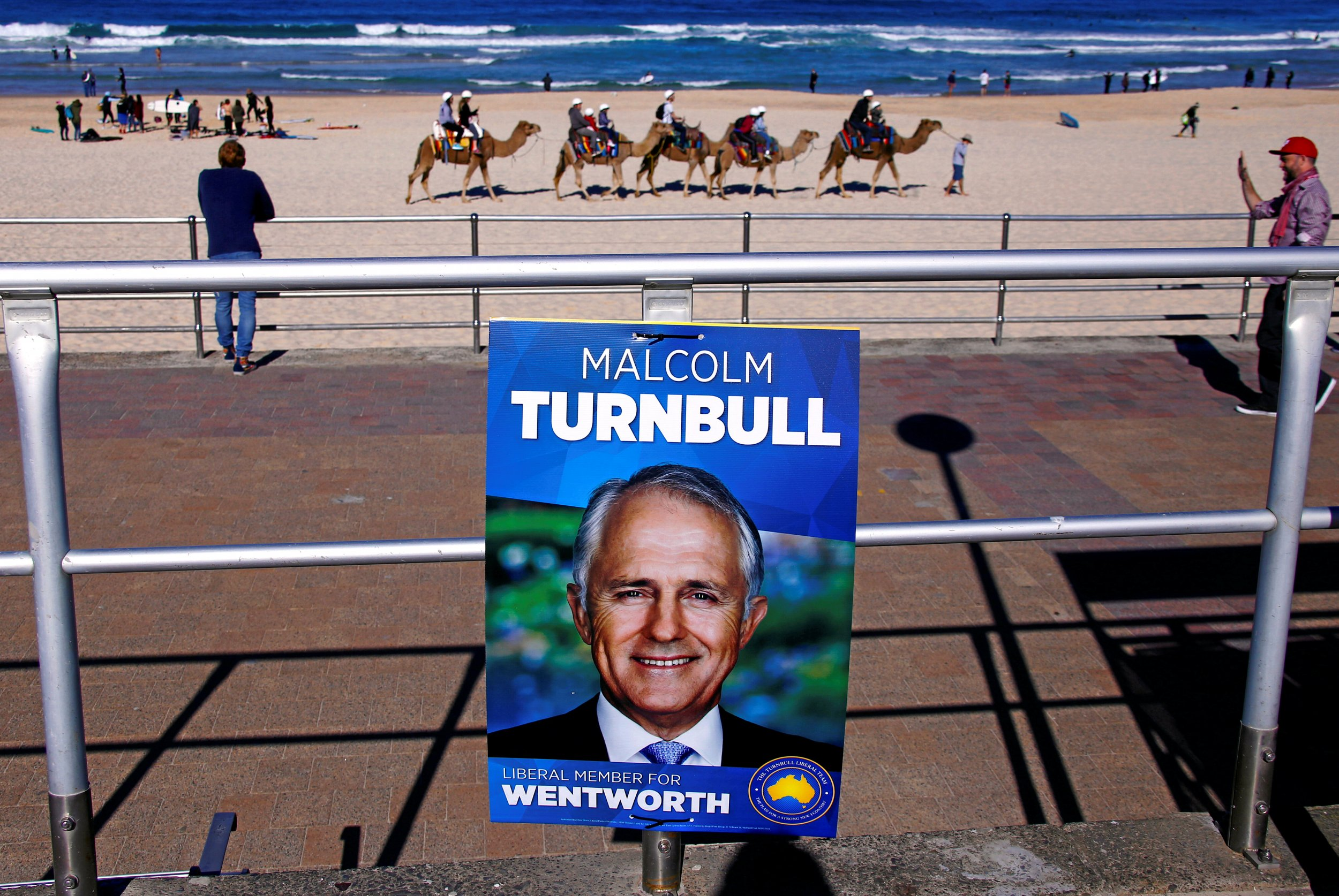 Malcolm Turnbull poster