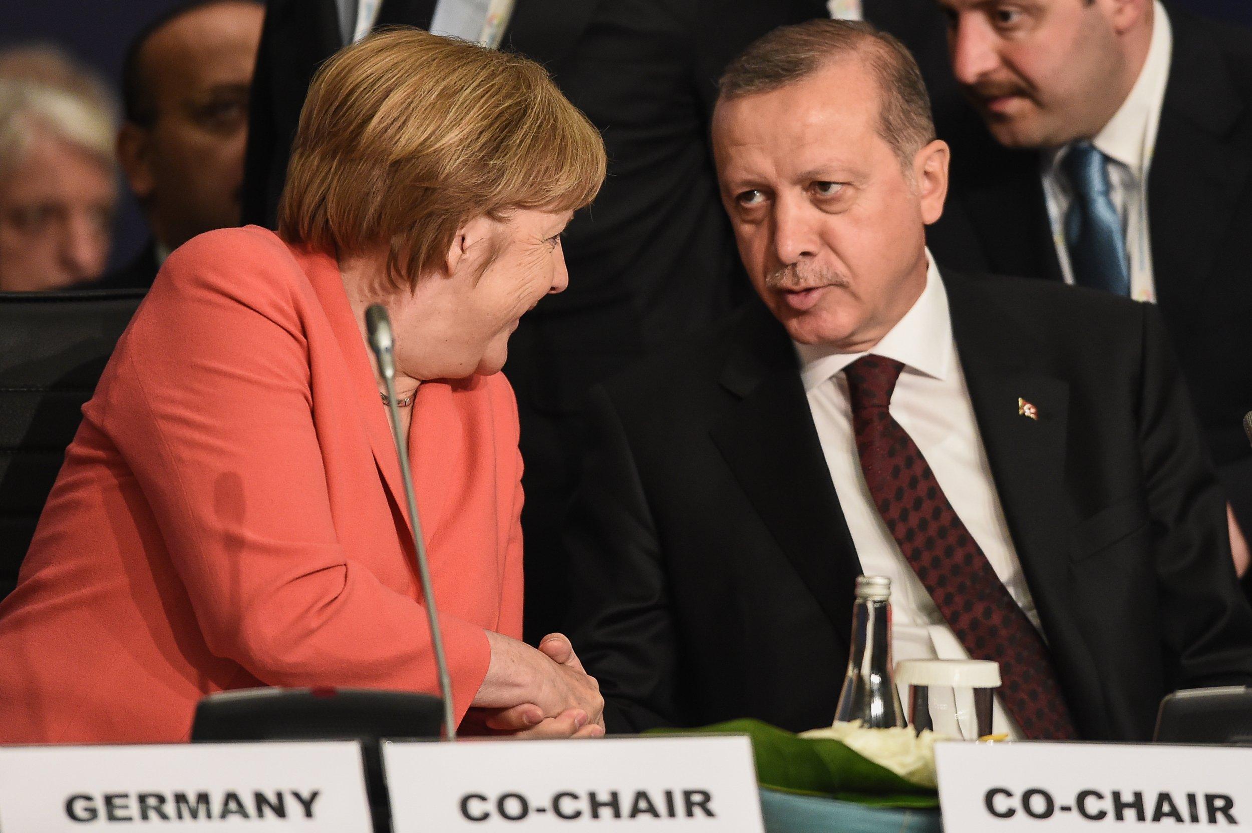 Turkey EU migrant deal - Erdogan Merkel