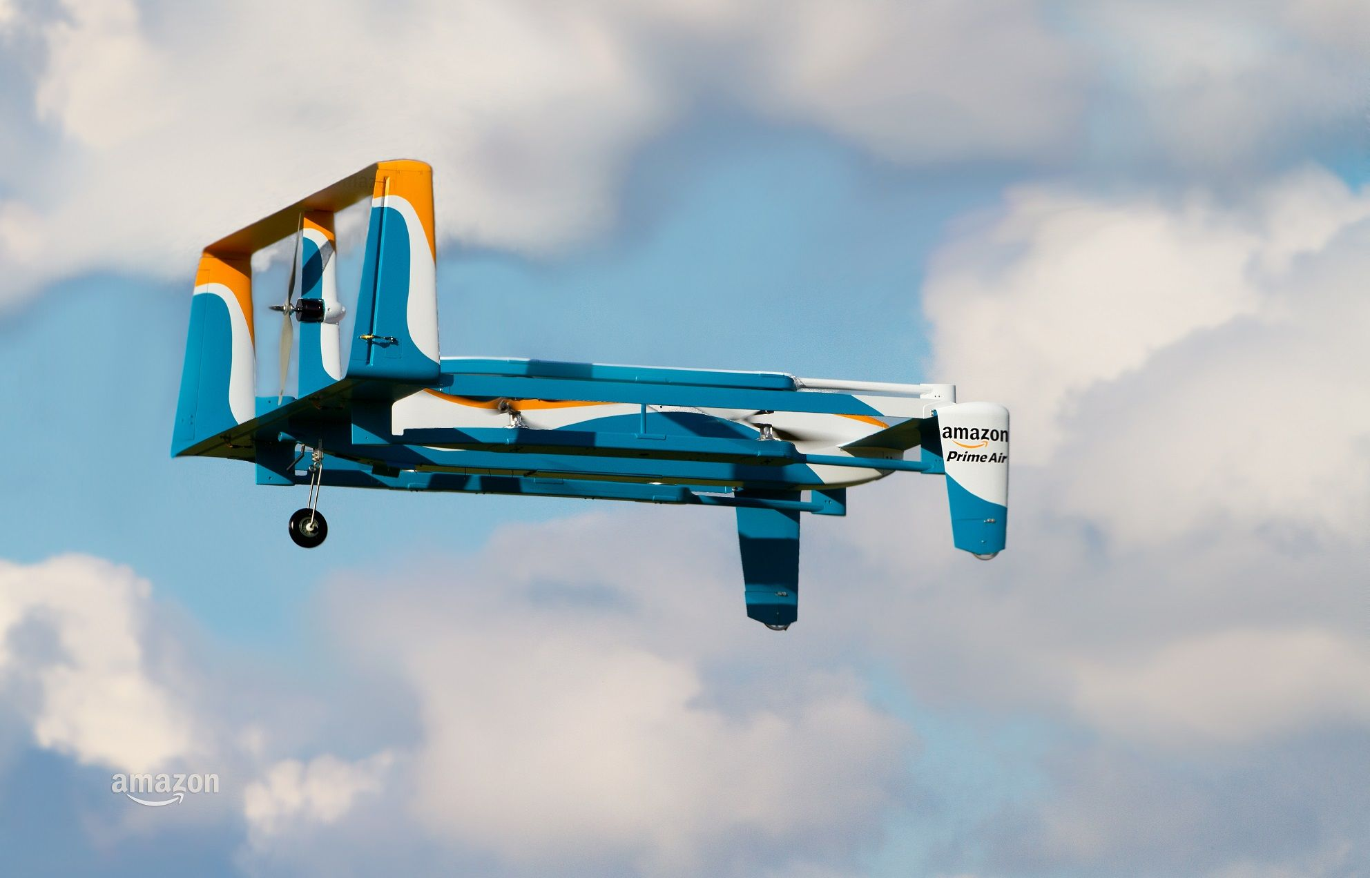 Amazon drone delivery uk government test
