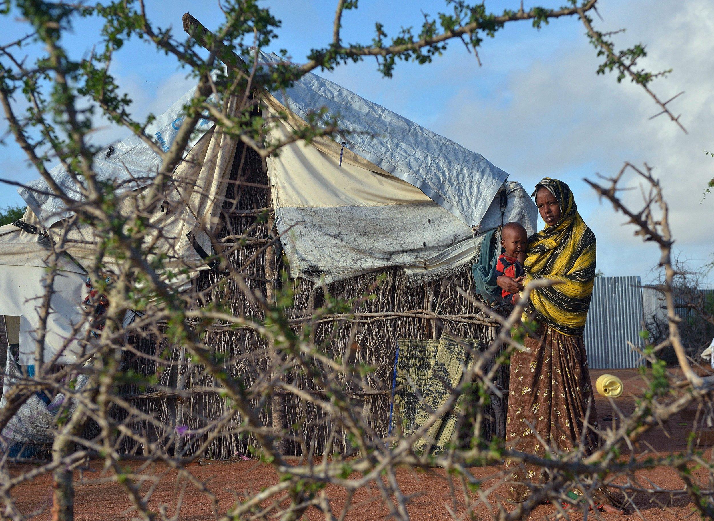 Somali refugee woman at Dadaab