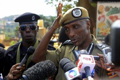 Uganda's inspector general of police