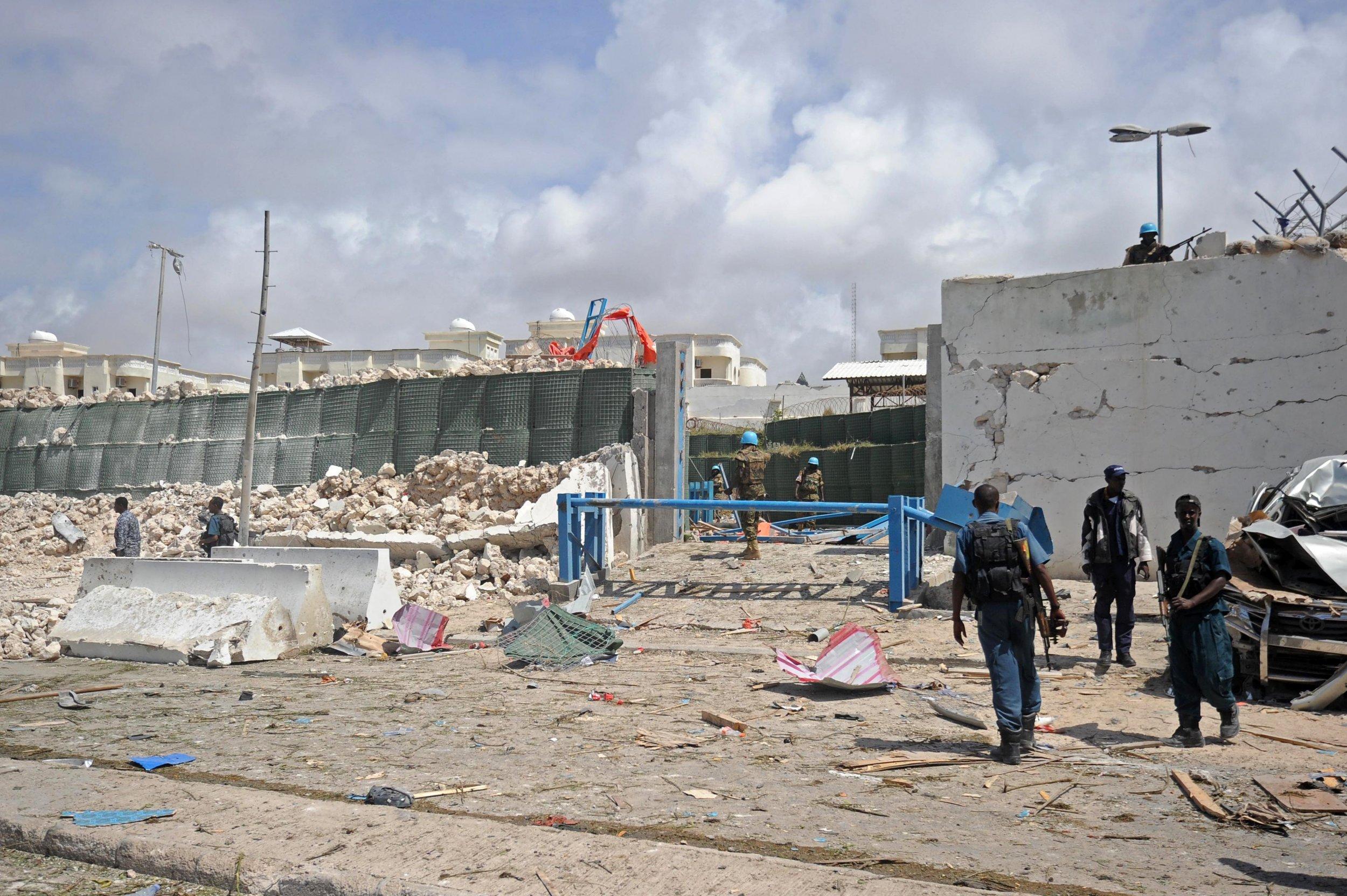 Somalia U.N. headquarters