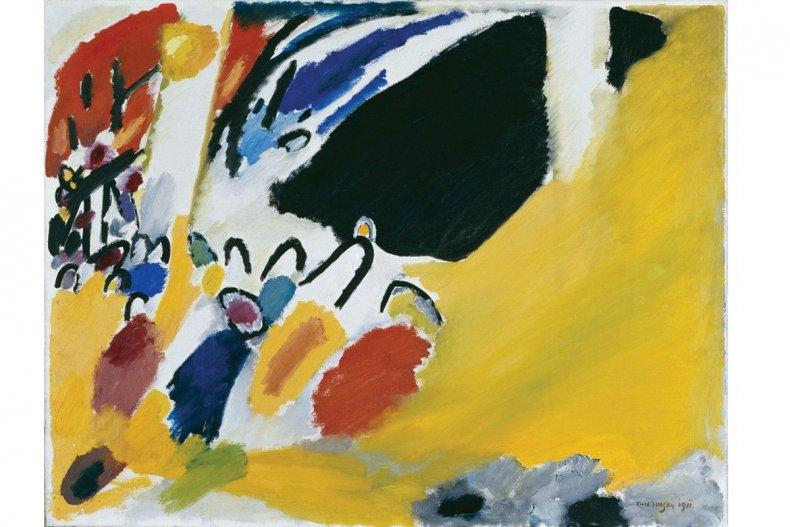 Vasily Kandinsky. Impression III, Concert