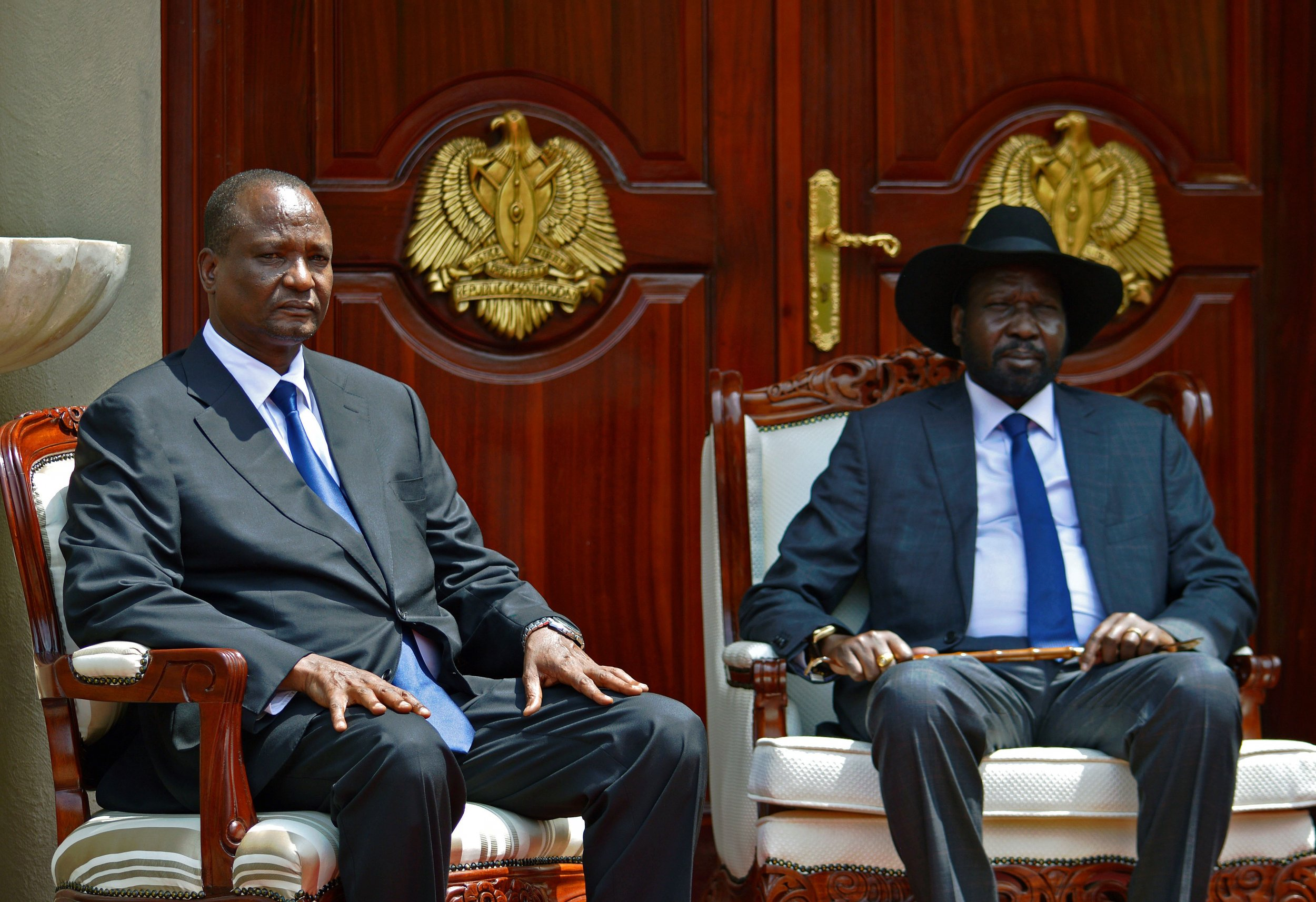 Taban Deng Gai and Salva Kiir