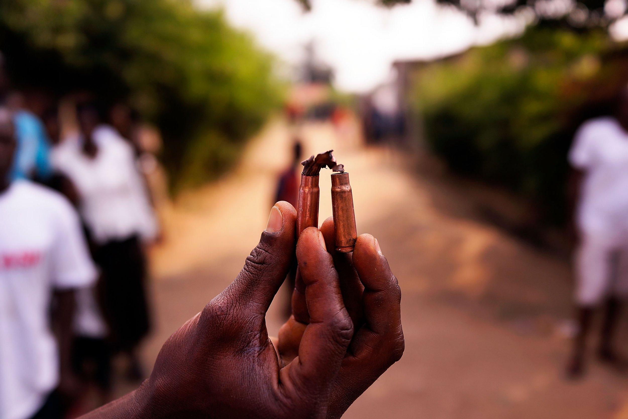 Burundi bullet casings