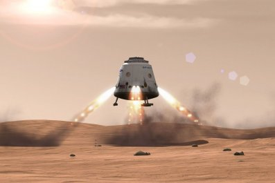 spacex red dragon mars NASA