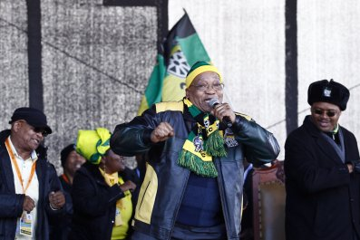 Jacob Zuma ANC rally