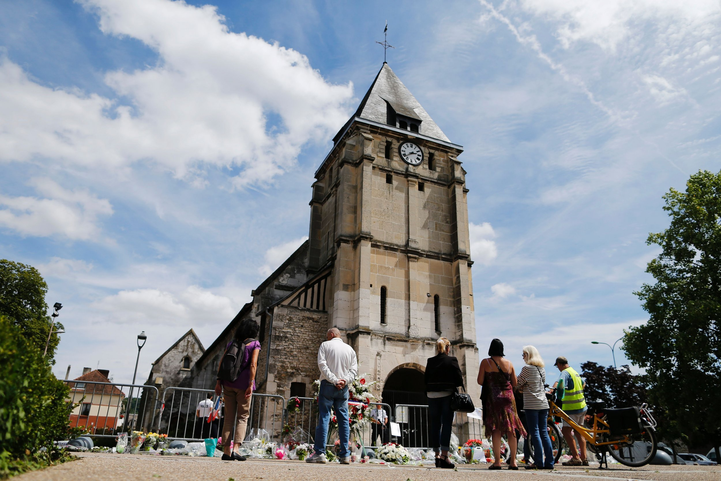 Church attack France
