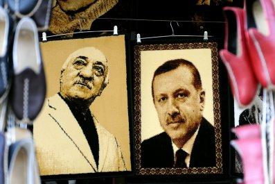 Fethullah Gulen and Recep Tayyip Erdogan