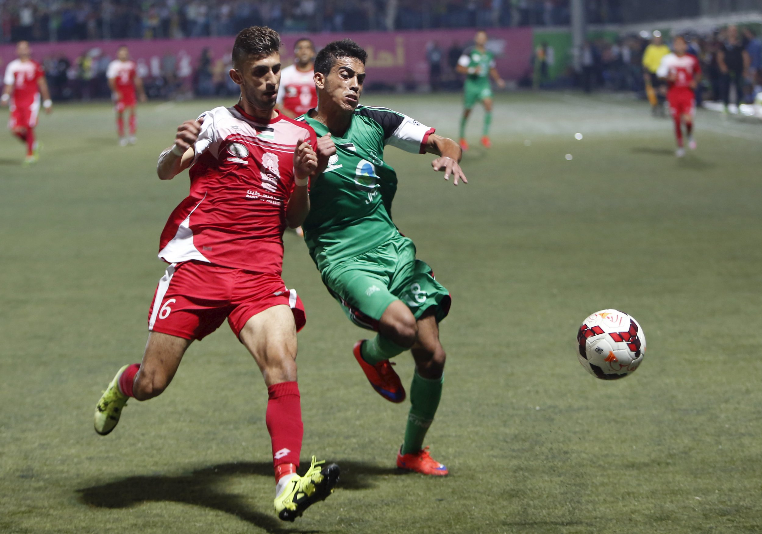 Gaza West Bank Football Match