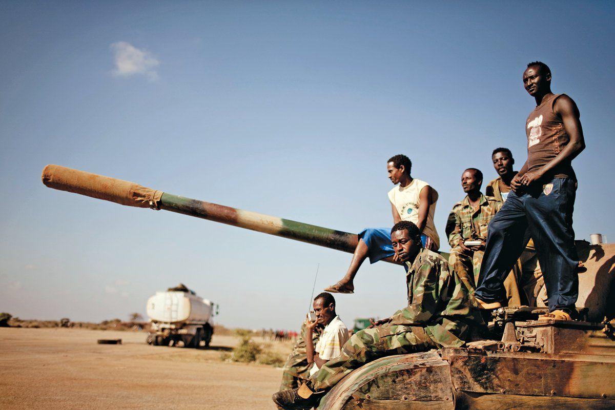 Ethiopian Forces in Somalia
