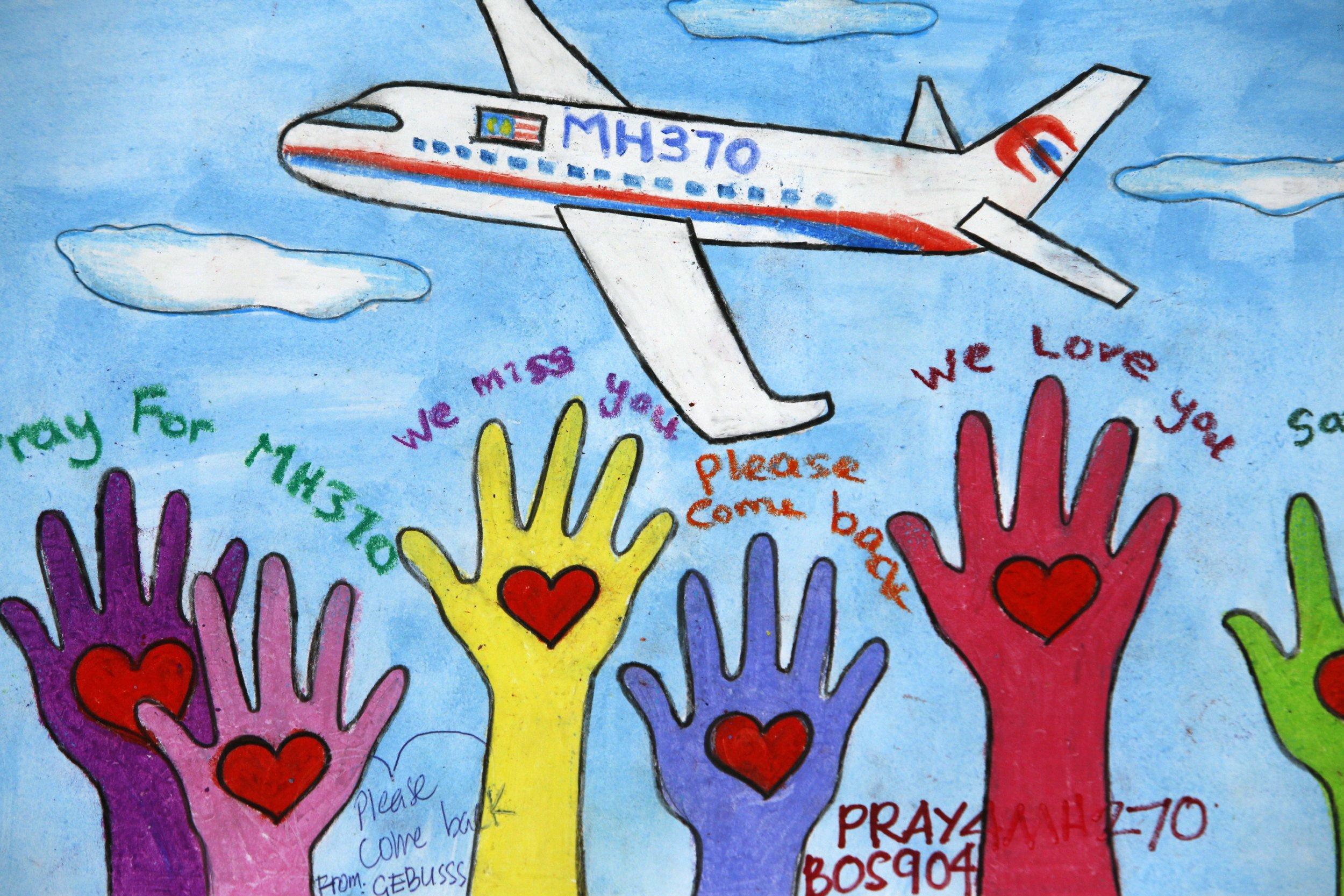 MH370 artwork