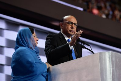 Khizr and Ghazala Khan