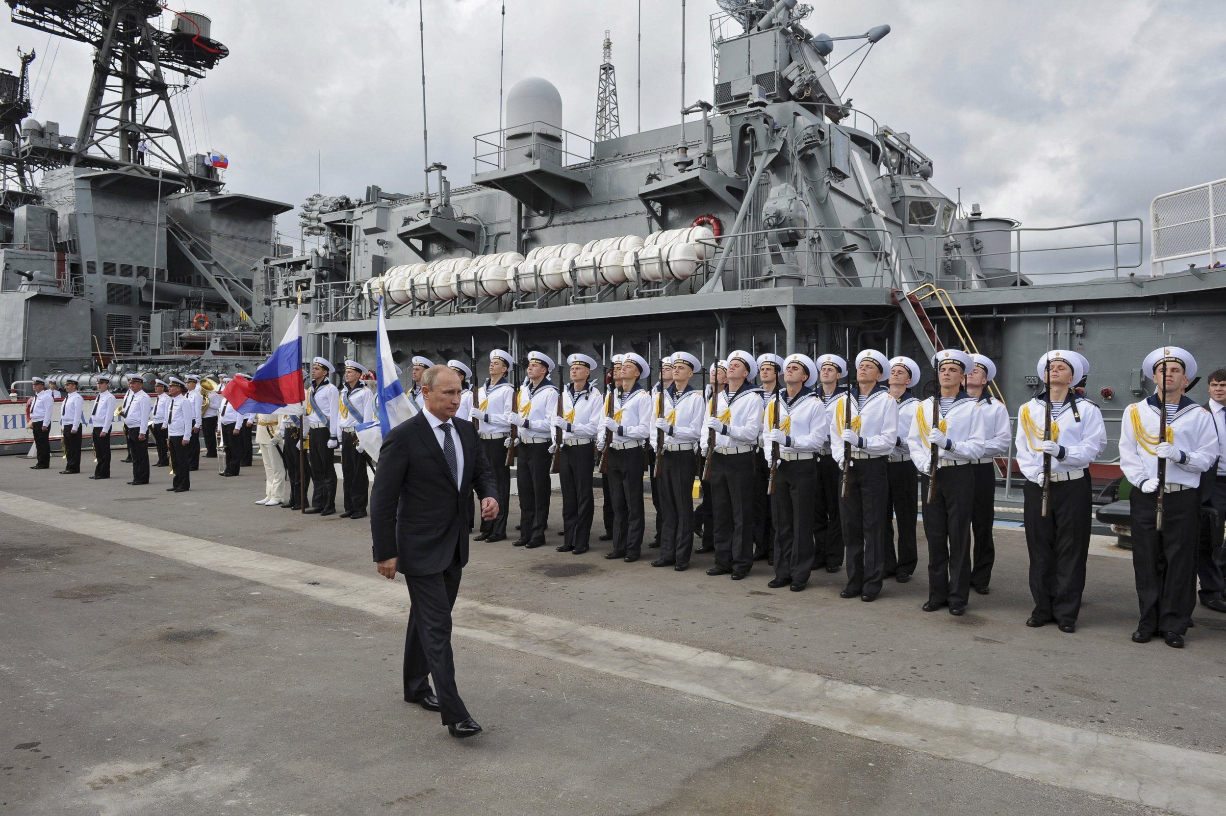 Putin and Black Sea Fleet