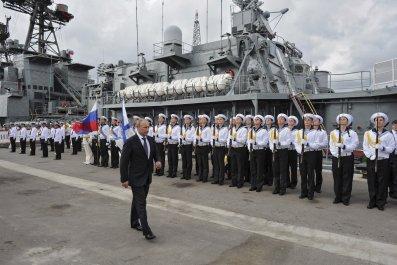 Putin and Black Sea Fleet